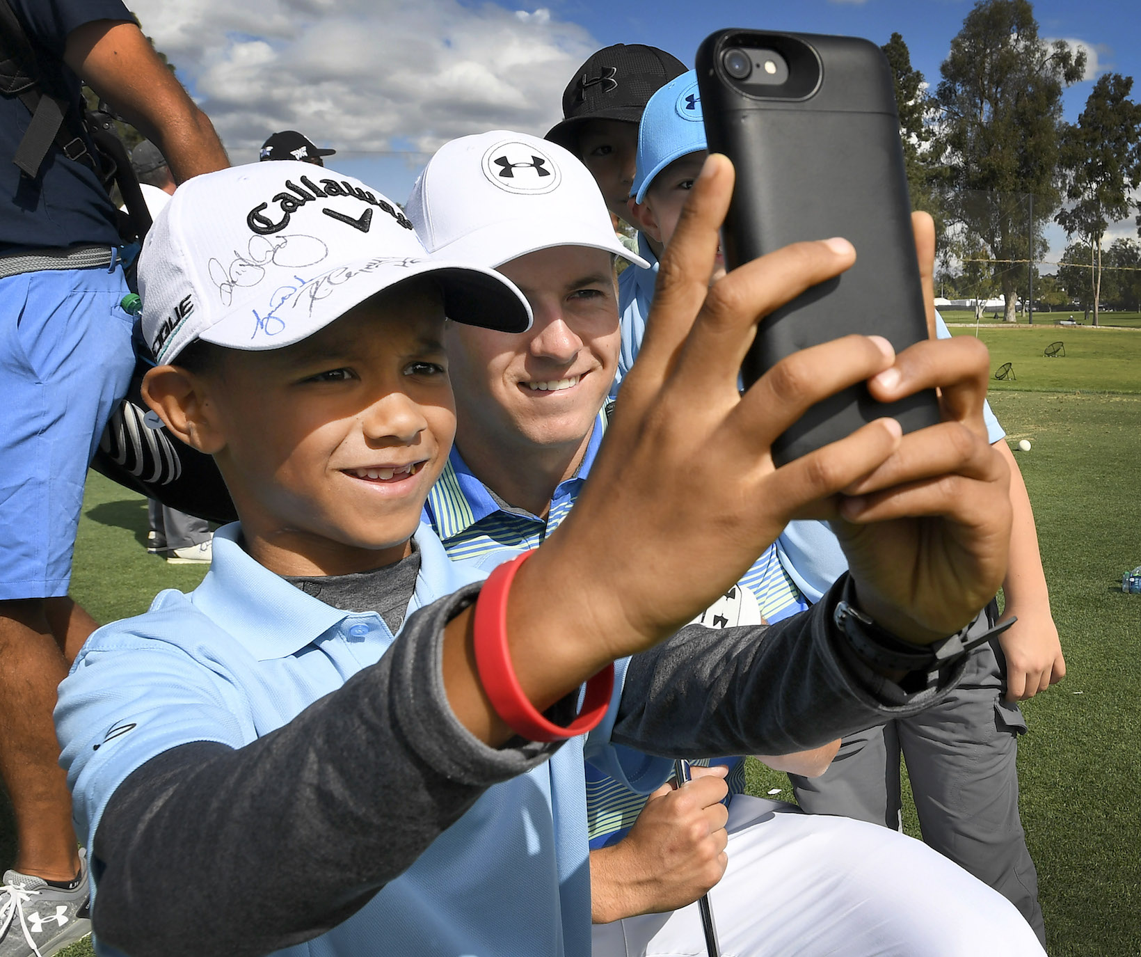 2018 Genesis Open: Pro-Am - Selfie With Jordan