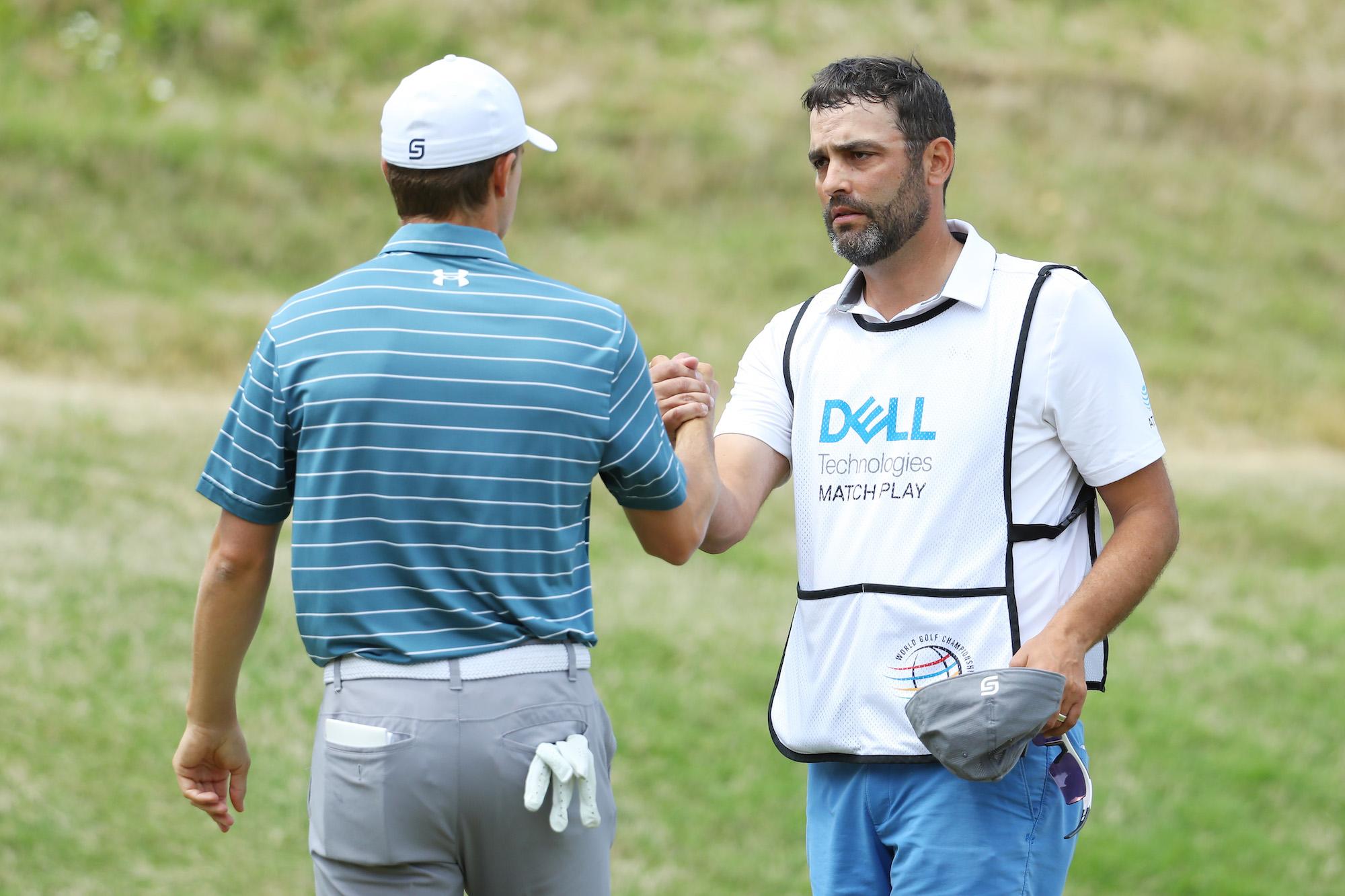 2019 WGC-Dell Technologies Match Play: Round 2 - Jordan and Michael Celebr