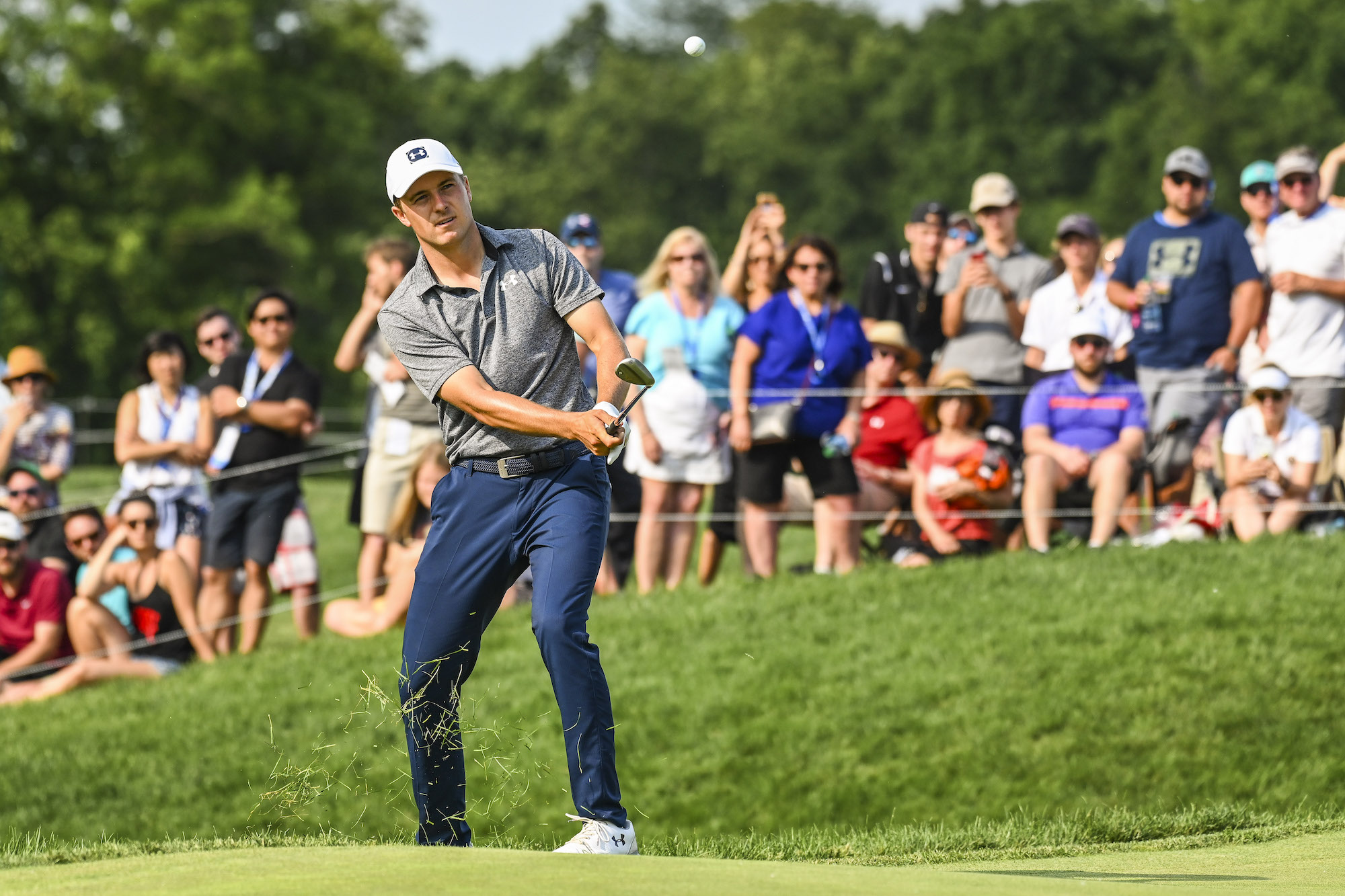 The 2019 Memorial Tournament: Round 3 - Chip Shot on No. 18