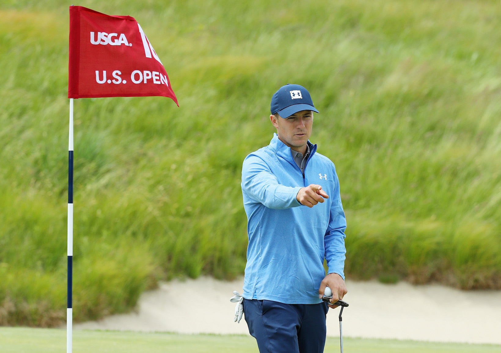 2018 U.S. Open Championship: Preview Day 1 - Reaction on No. 18