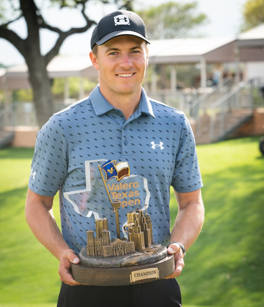 2021 Valero Texas Open: Final Round - Posing With the Trophy
