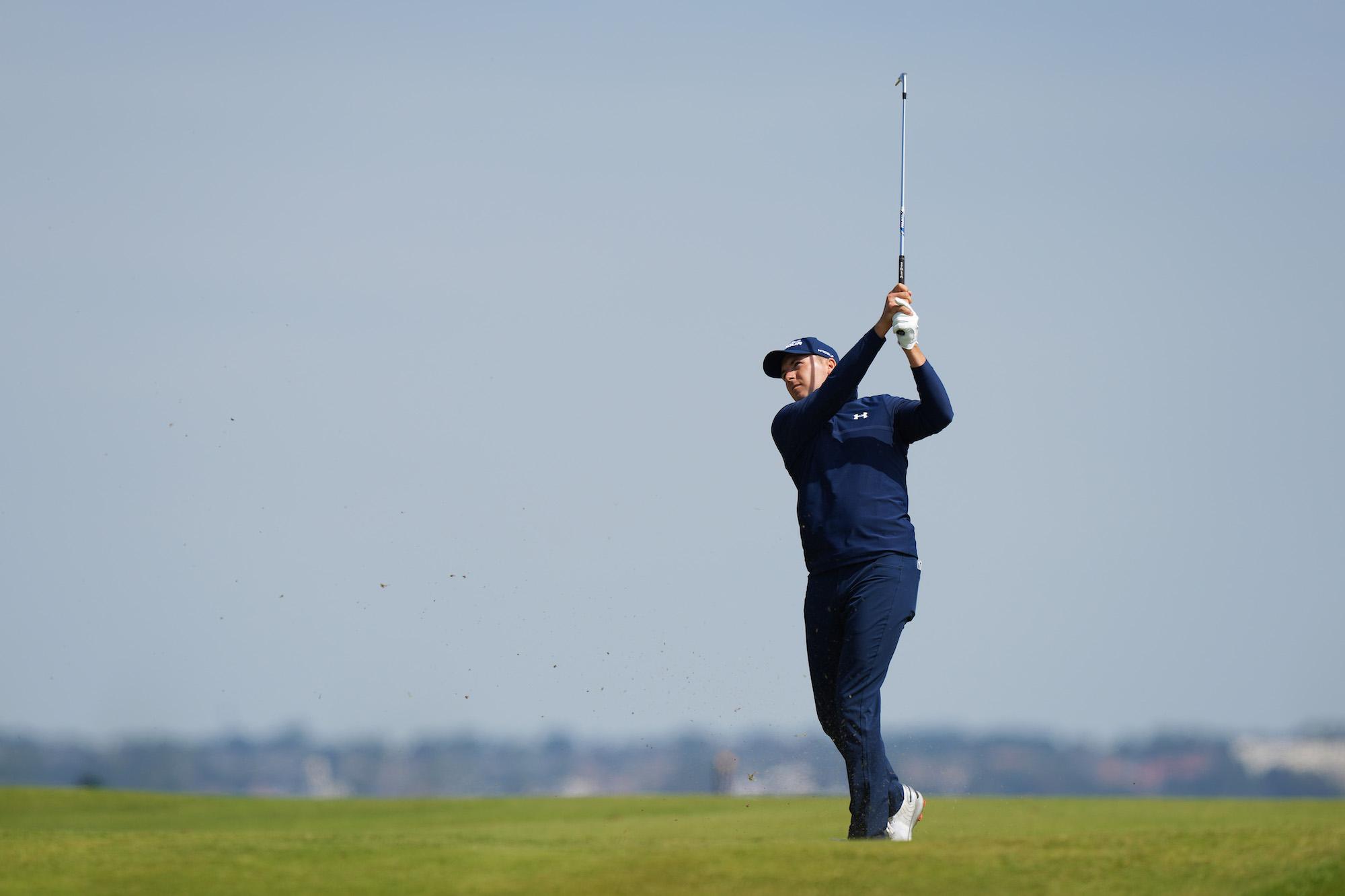 2021 Open Championship: Round 1 - Jordan Plays His Shot on No. 8