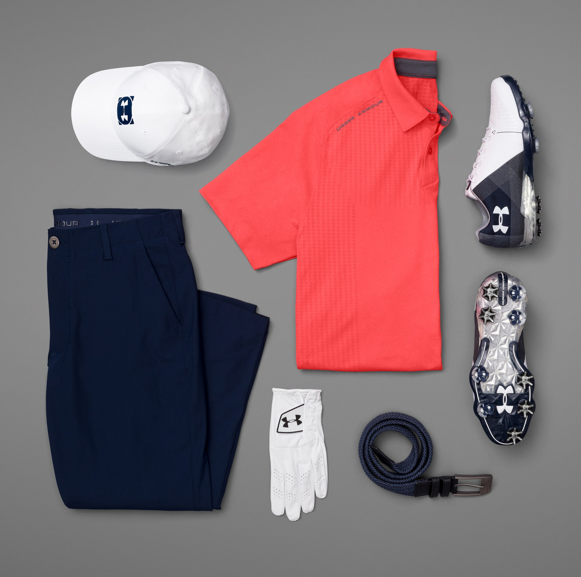 UA Kit for 2018 U.S. Open - Sunday