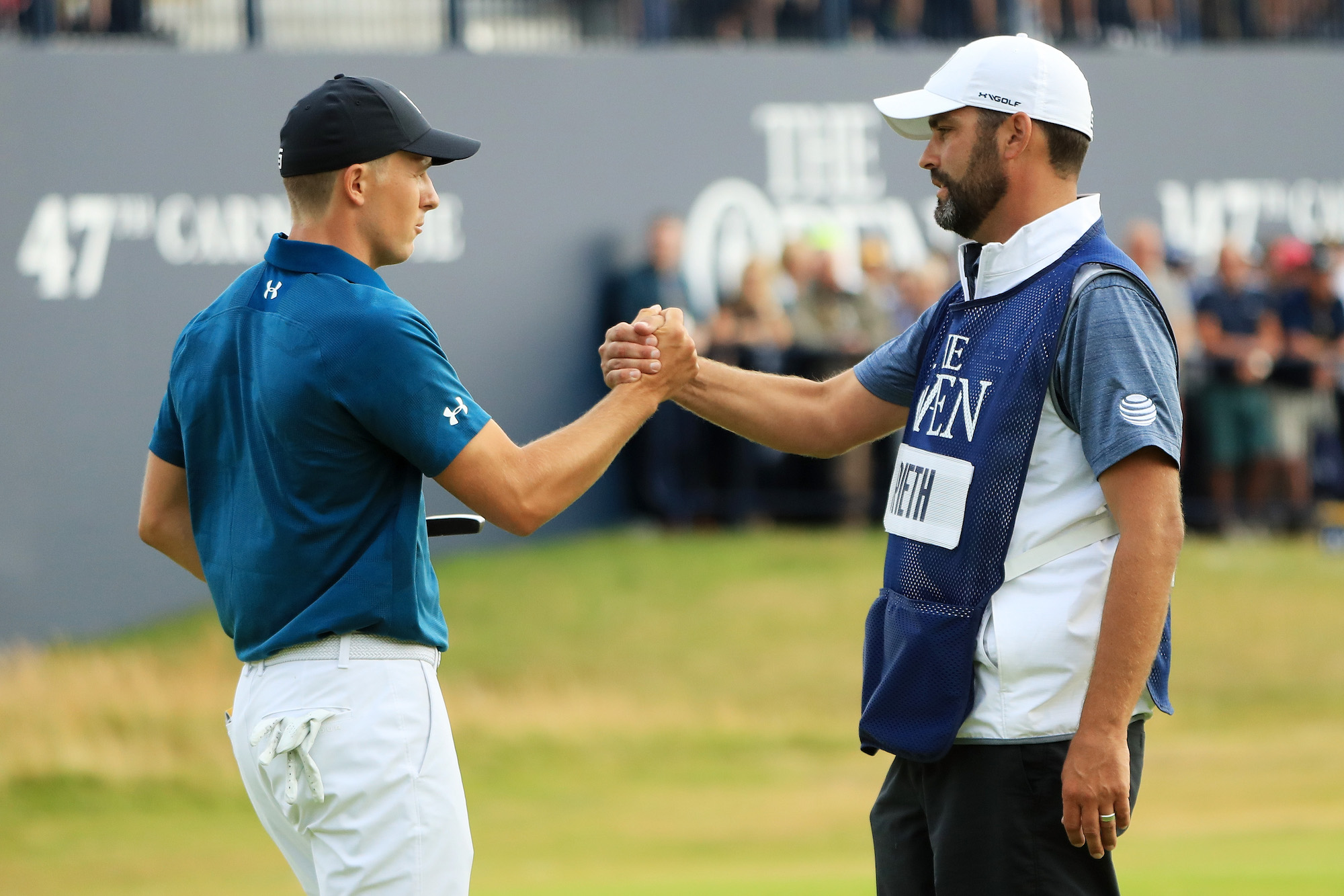 2018 Open Championship: Round 3 - Jordan and Michael Celebrate a Successful Moving Day at Carnoustie