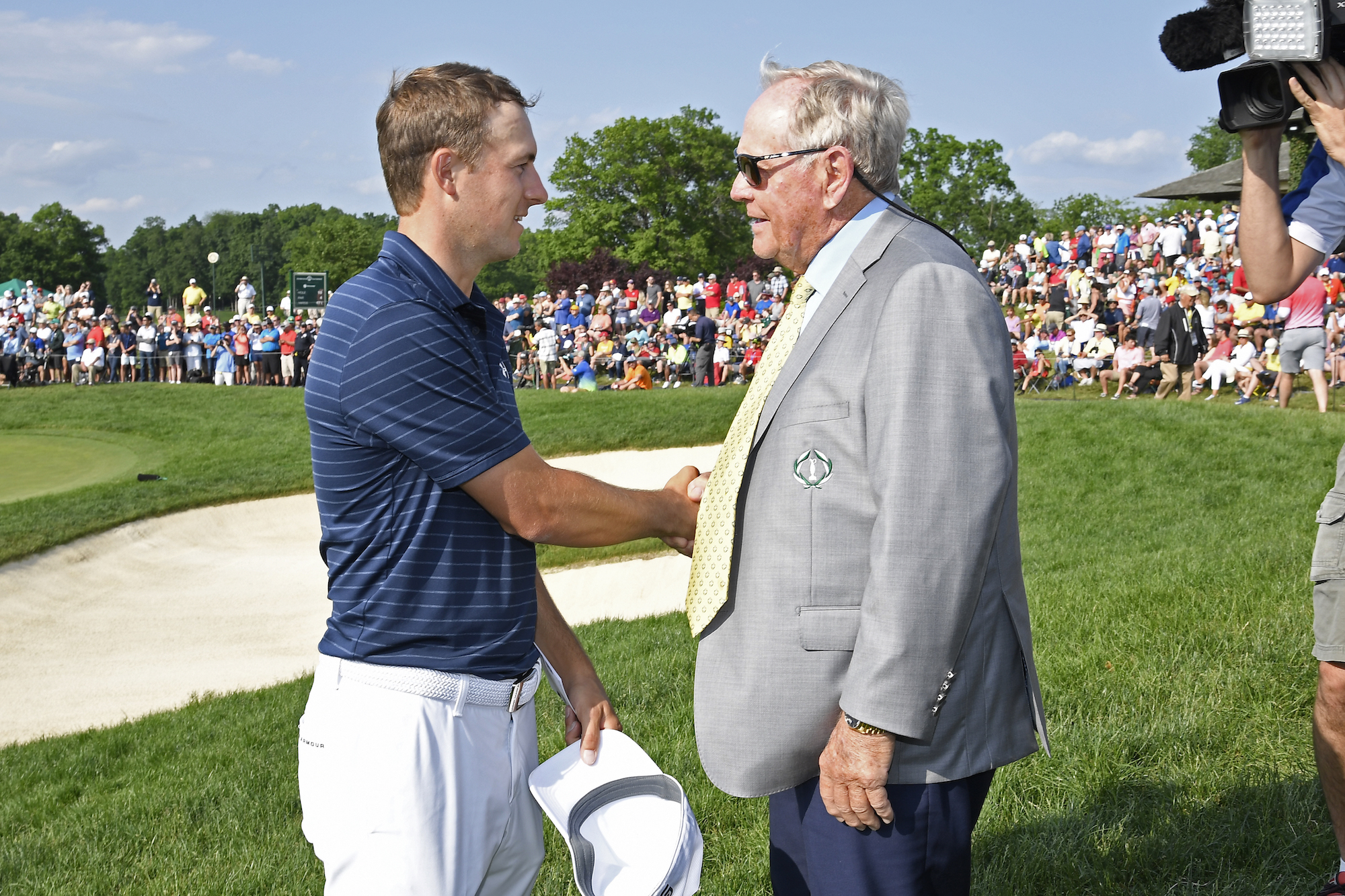 The 2019 Memorial Tournament: Final Round - Jordan and Jack Nicklaus After Sunday's Round