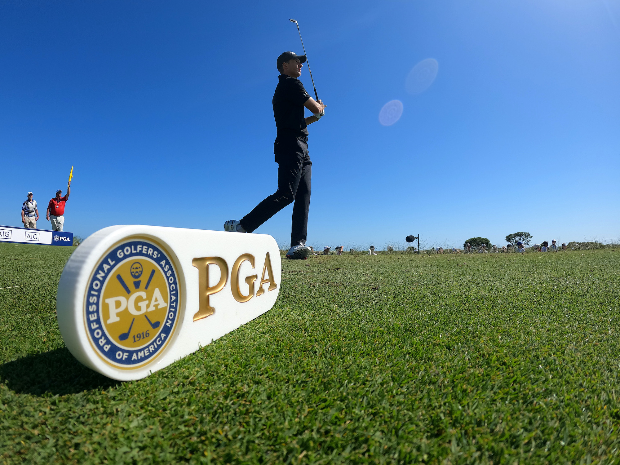 2021 PGA Championship: Round 1 - Shot From the 8th Tee