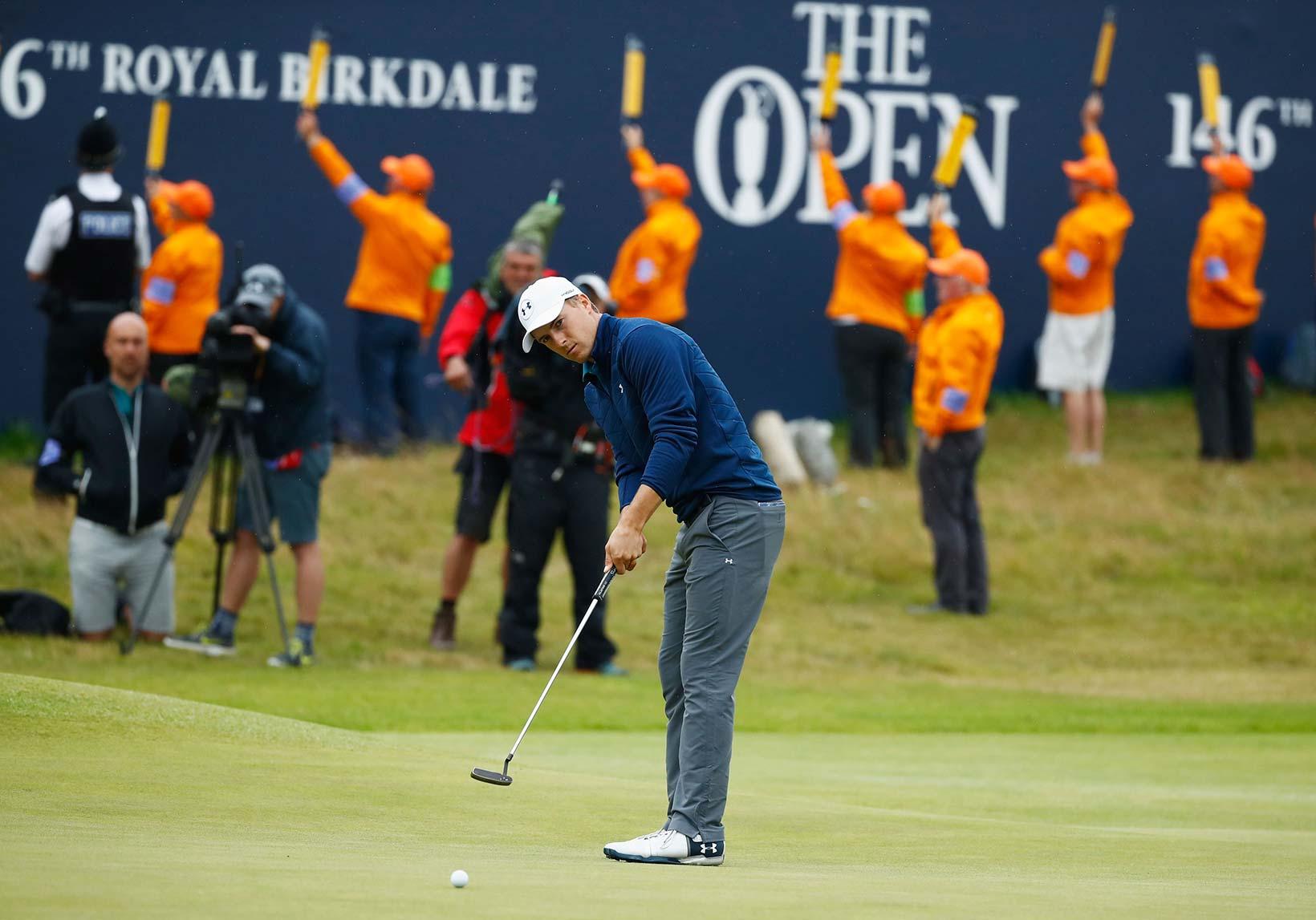 2017 Open Championship: Final Round - Birdie Putt on No. 18