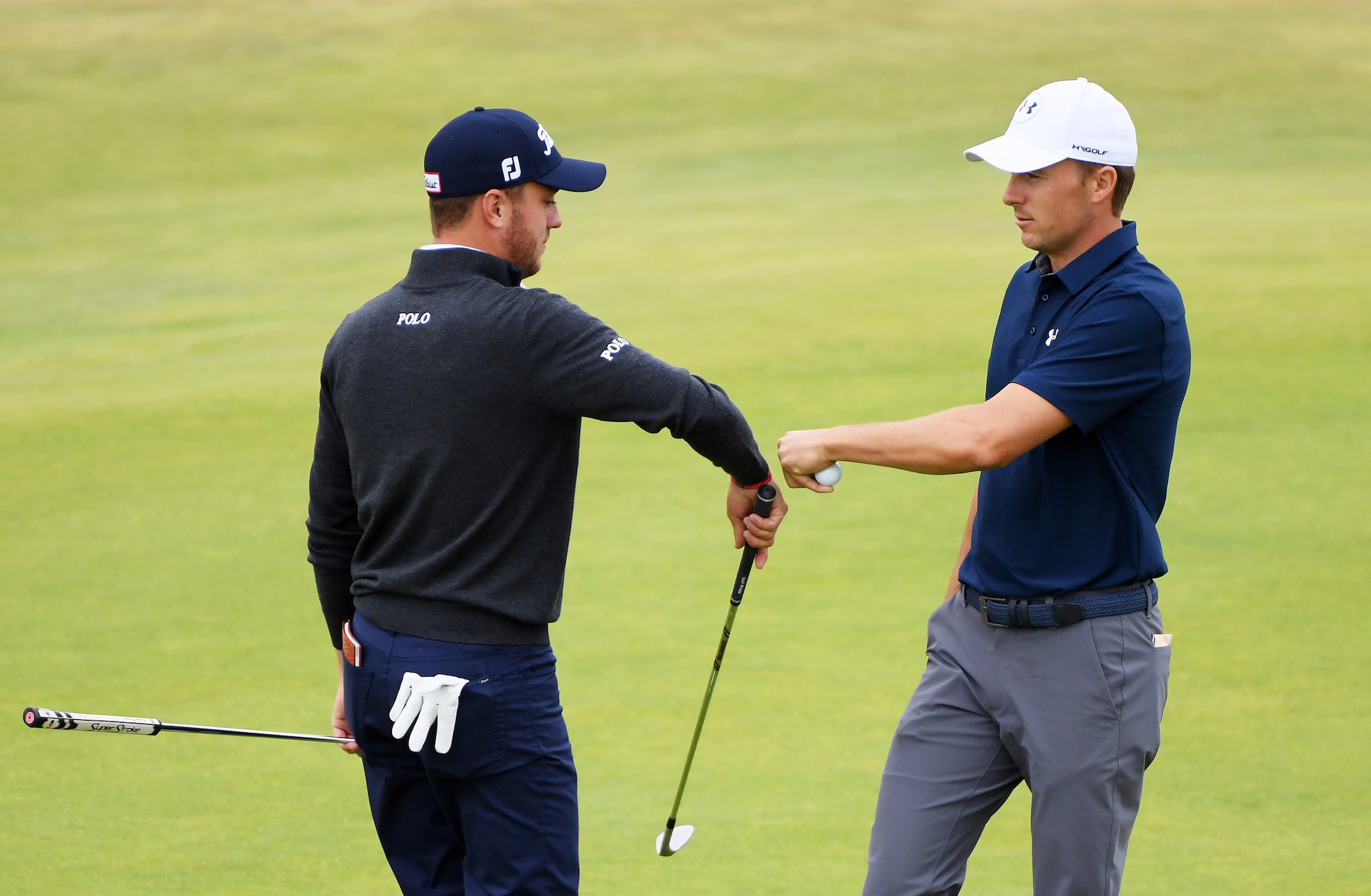 2018 Open Championship: Previews - A Fist Bump With Justin Thomas on No. 18