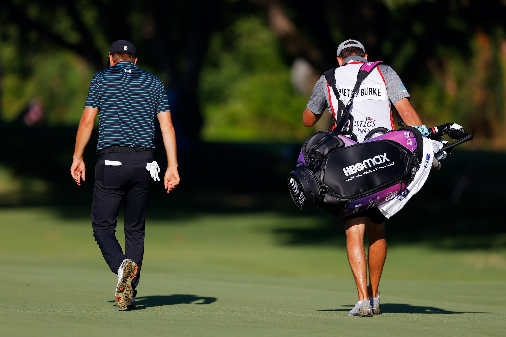 2020 Charles Schwab Challenge: Round 2 - Jordan's New HBO Max Golf Bag