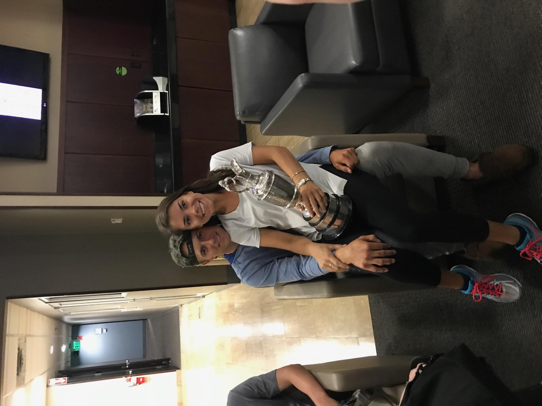2017 Open Championship: Family Celebration - Jordan and Annie Verret