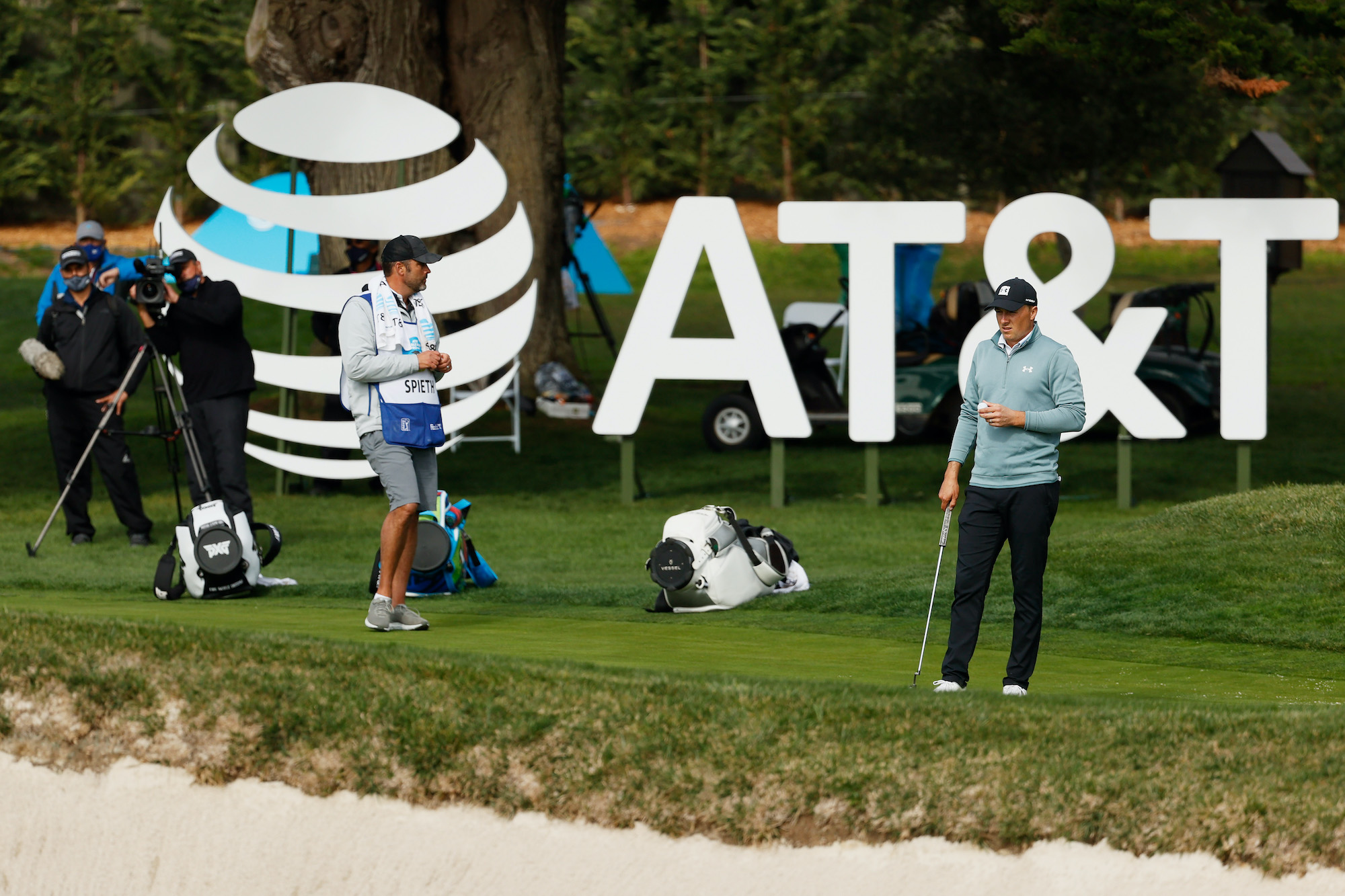 2021 AT&T Pebble Beach Pro-Am: Round 3 - Jordan During the Third Round