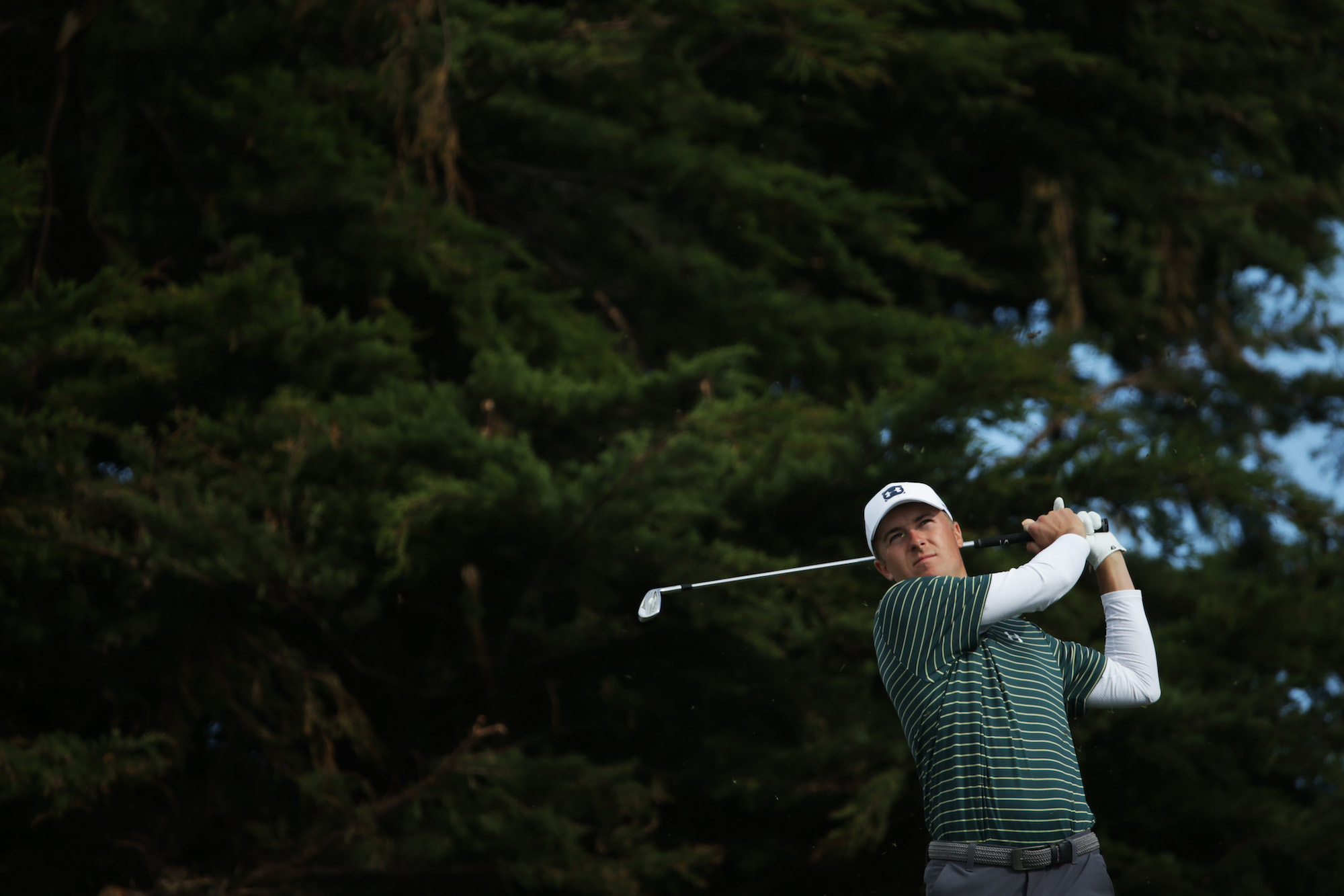 2019 AT&T Pebble Beach Pro-Am: Round 1 - Shot on No. 15