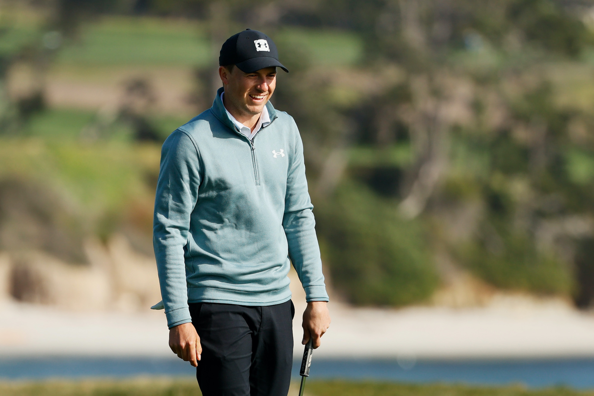 2021 AT&T Pebble Beach Pro-Am: Round 3 - Jordan Laughs on No. 17