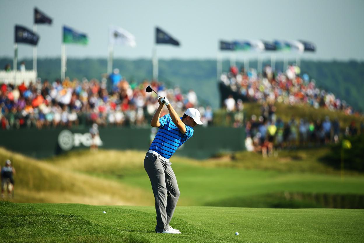 The 2015 PGA Championship: Round 2