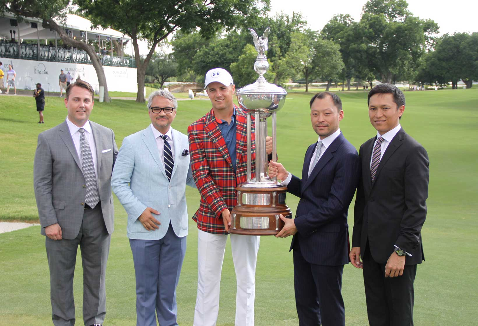 2016 Dean & Deluca Invitational: Jordan With Dean & DeLuca and Pace Development