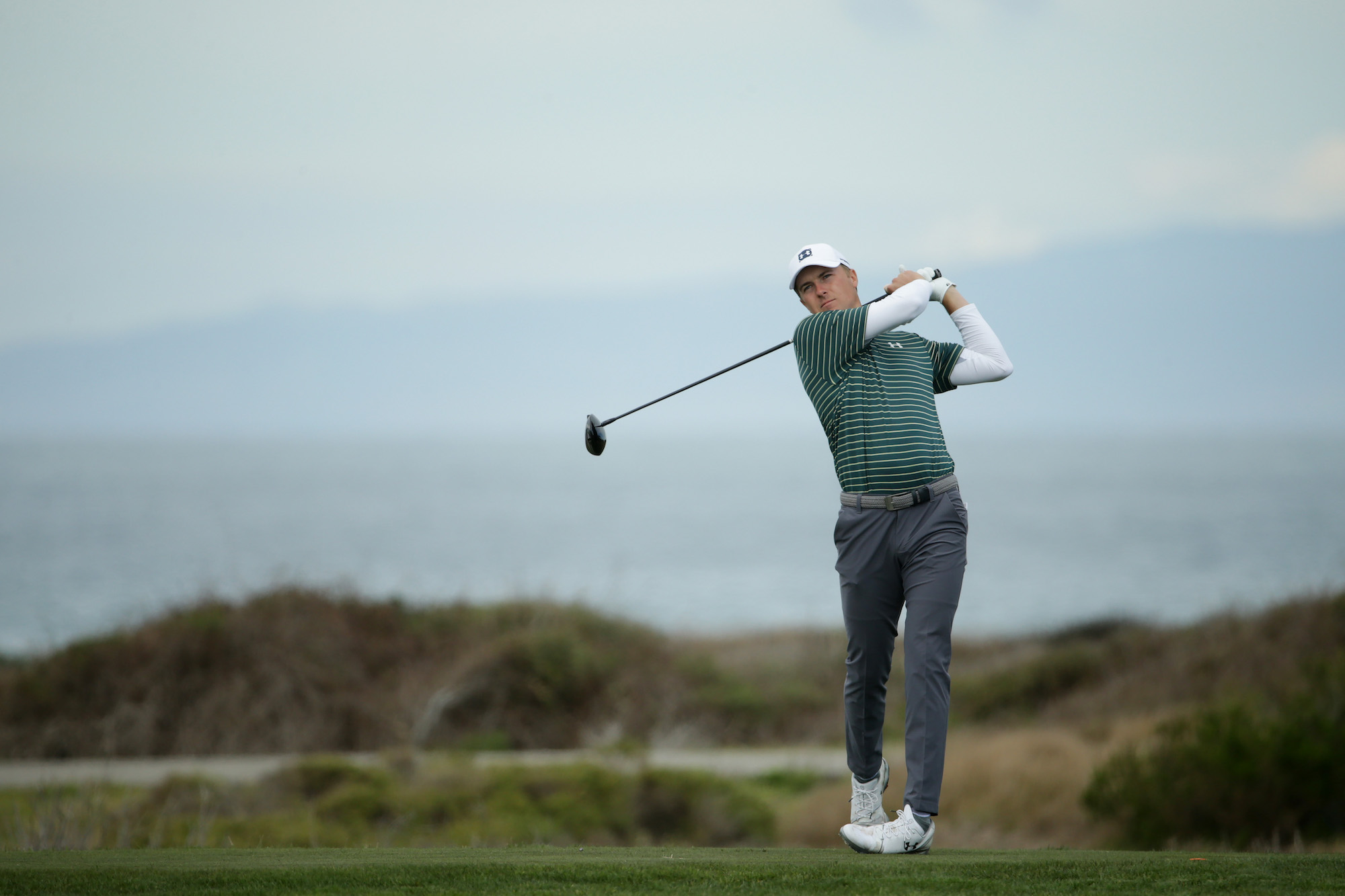 2019 AT&T Pebble Beach Pro-Am: Round 1 - Tee Shot on No. 12