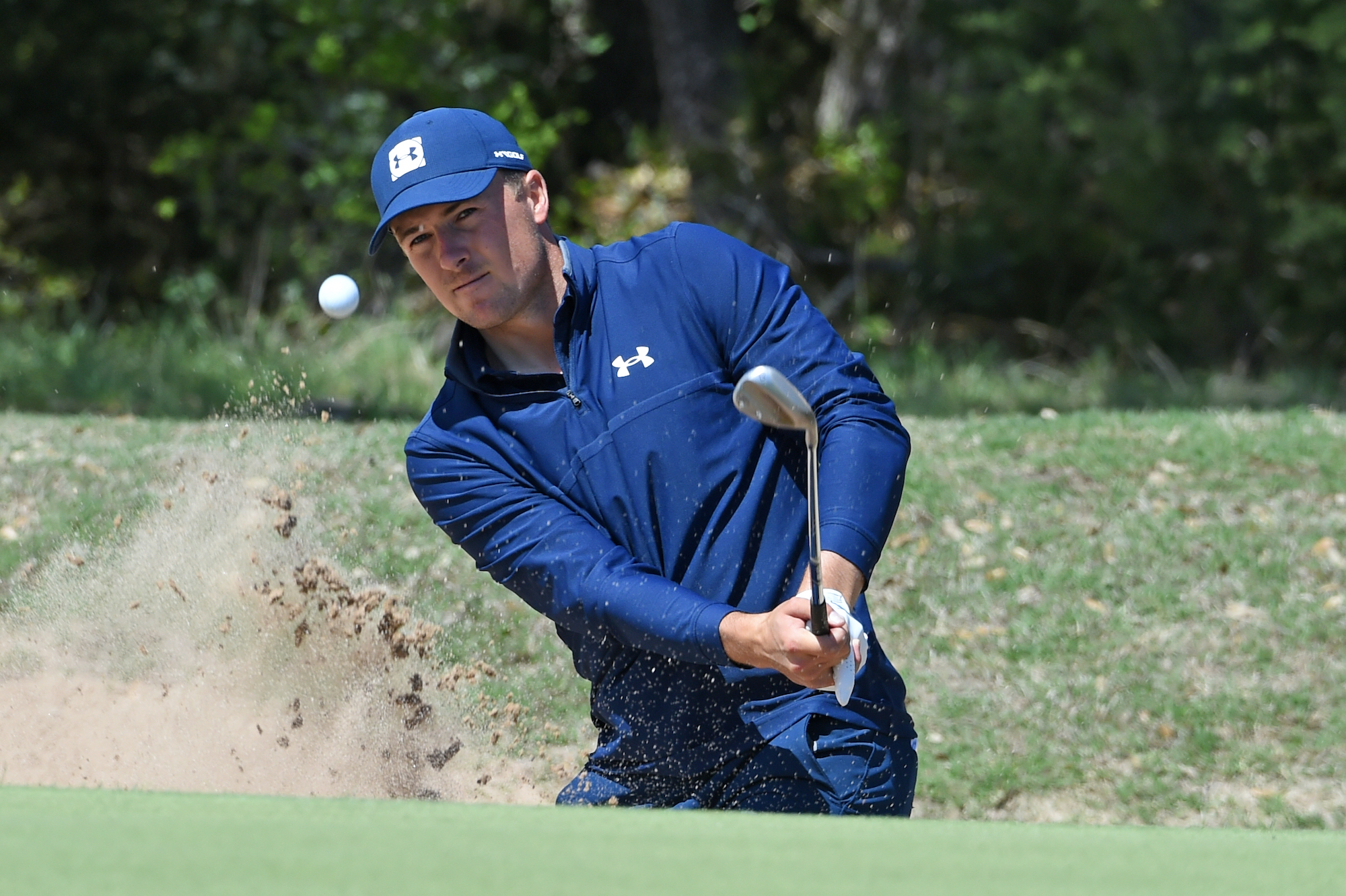 2021 Valero Texas Open: Round 1 - From the Bunker on No. 6