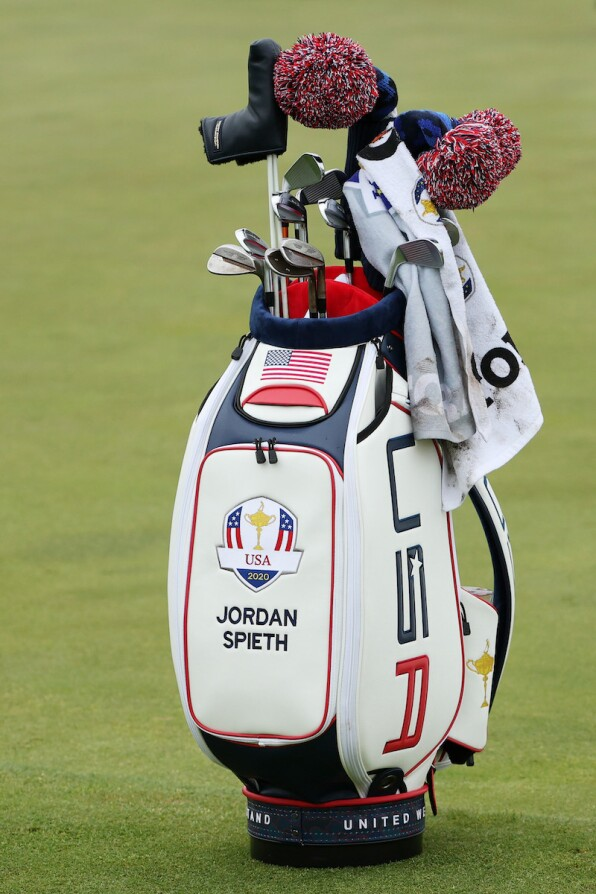 2021 Ryder Cup: Previews - Jordan's Ryder Cup Bag