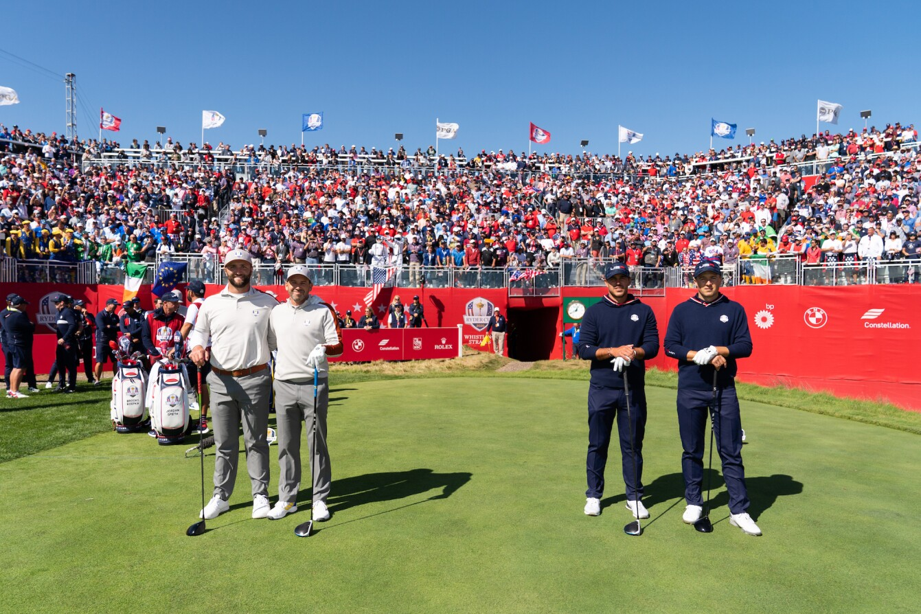 2021 Ryder Cup: Day 2 - Jordan and Annie on 18