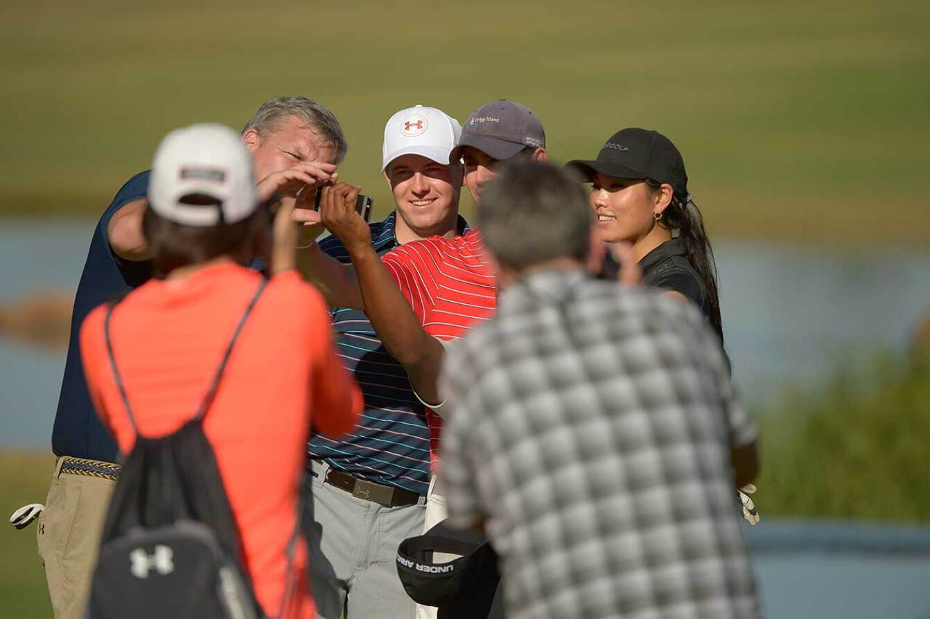 Selfies on the Course - 2015 Spieth Shootout