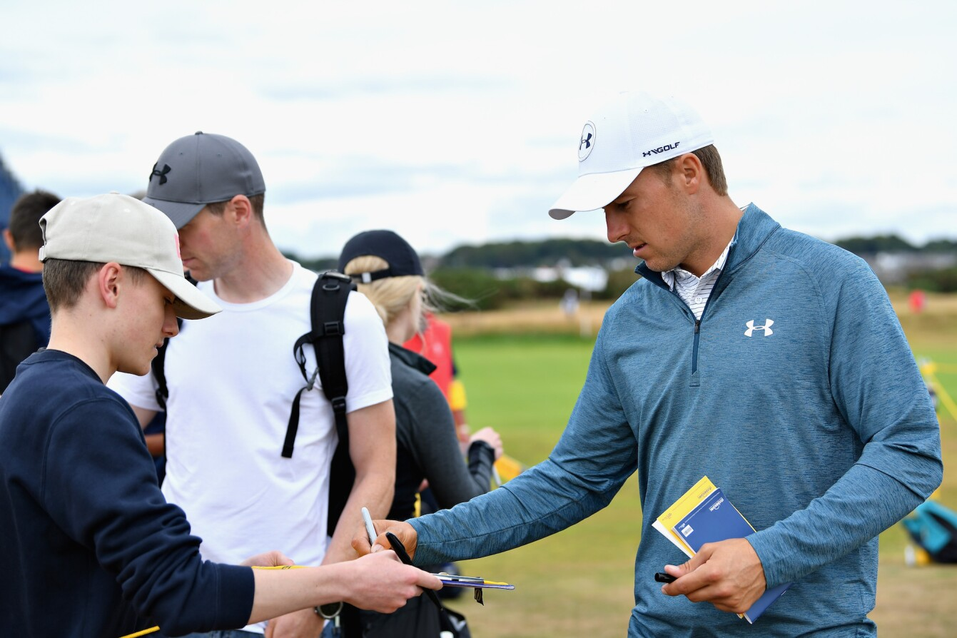 2018 Open Championship: Previews - Signing Autographs