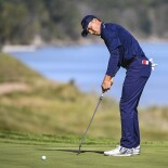 2021 Ryder Cup: Day 2 - Jordan's Eagle Putt on 16 During Saturday Morning Foursomes