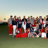 2017 Presidents Cup: Final Round - U.S Team With Wives and Girlfriends