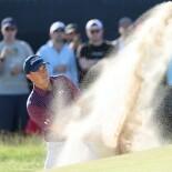 2021 Open Championship: Round 3 - Bunker Shot on No. 11