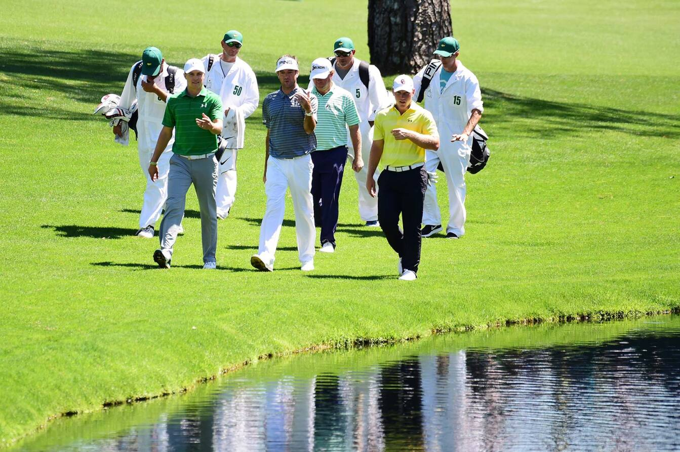 2017 Masters Tournament: Preview Round 2 - Walking Up No. 16