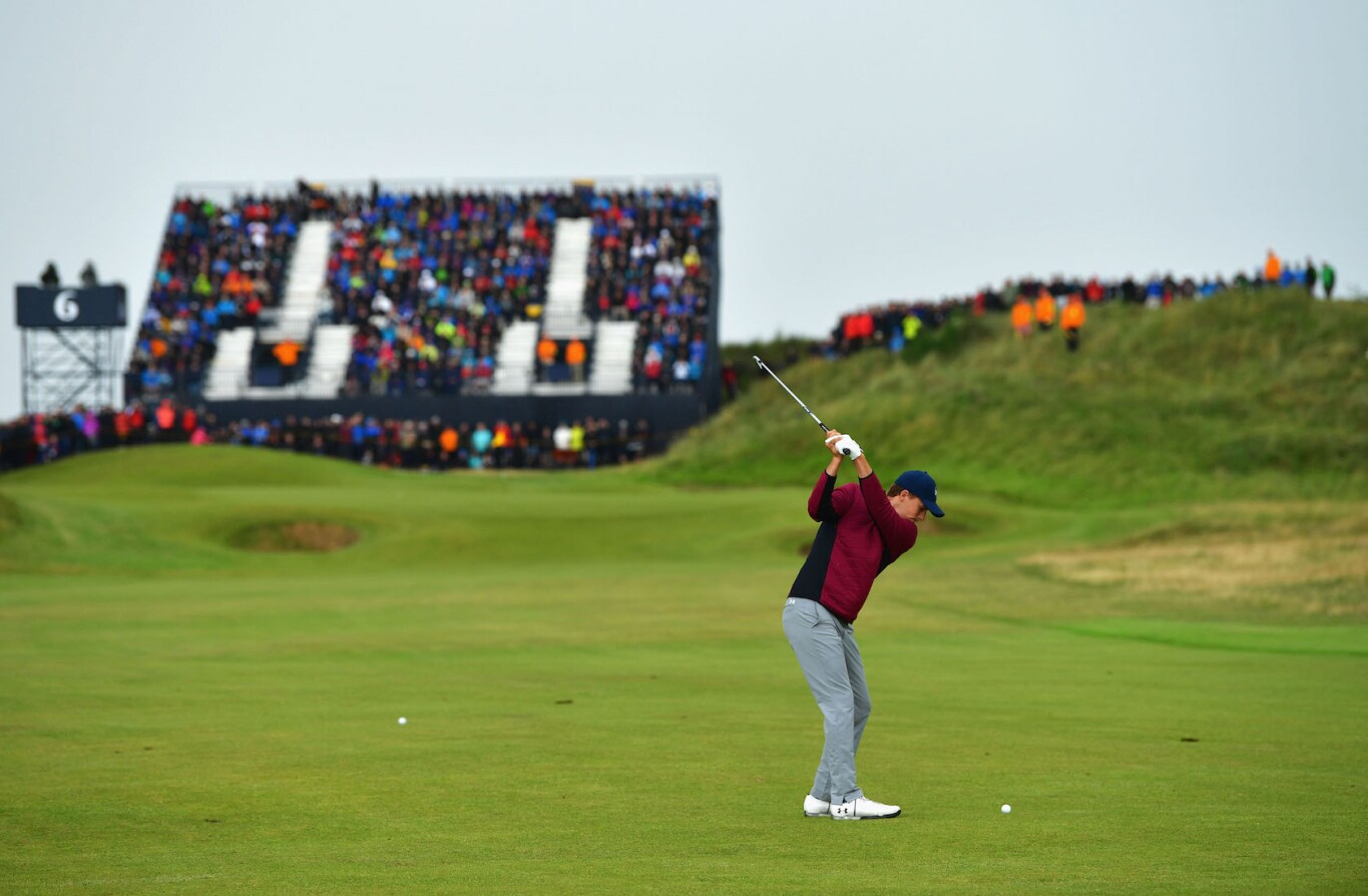 2017 Open Championship: Round 2 - 6th Hole Second Shot