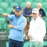 2018 U.S. Open Championship: Preview Day 1 - Jordan and Coach Cam McCormick