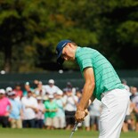 2017 TOUR Championship: Round 2 - Putts on 3rd