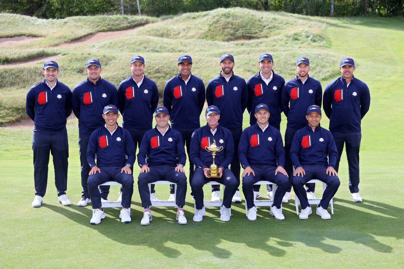 2021 Ryder Cup: Preview Day 2 - U.S. Ryder Cup Team Portrait