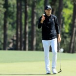 2018 Masters Tournament: Final Round - Birdie on No. 8