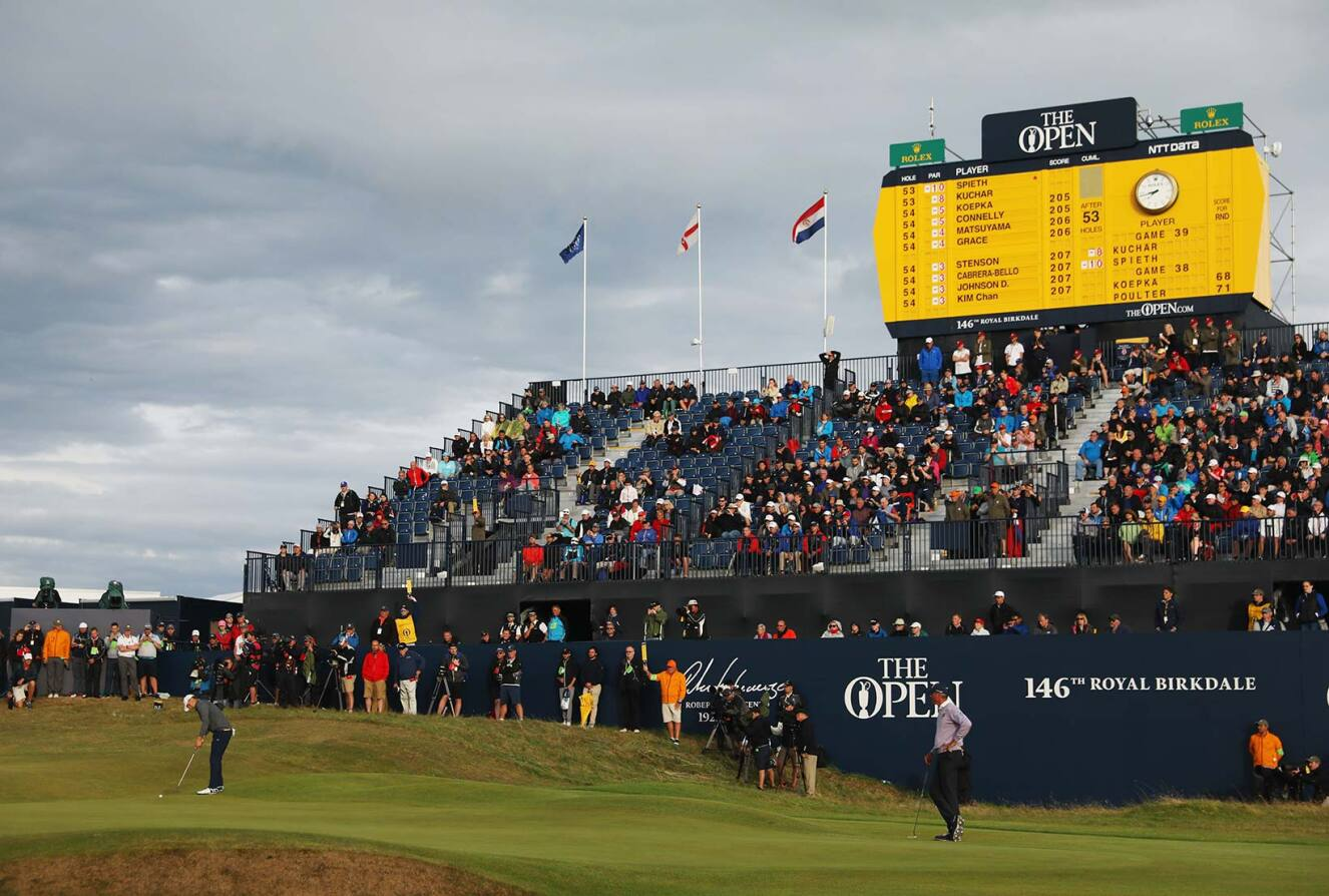 2017 Open Championship: Round 3 - Birdie Putt on No. 18