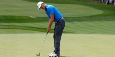 2016 PGA Championship: Round 2 - Jordan Putts the 3rd Hole