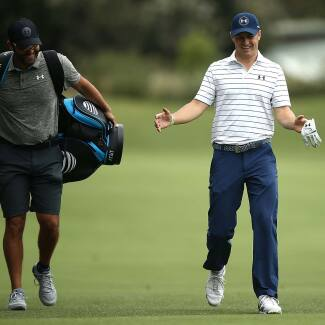 2016 Emirates Australian Open: Previews - Jordan and Michael During First Practice Round
