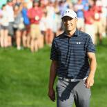 2017 Travelers Championship: Final Round - Celebrating the Hole-Out