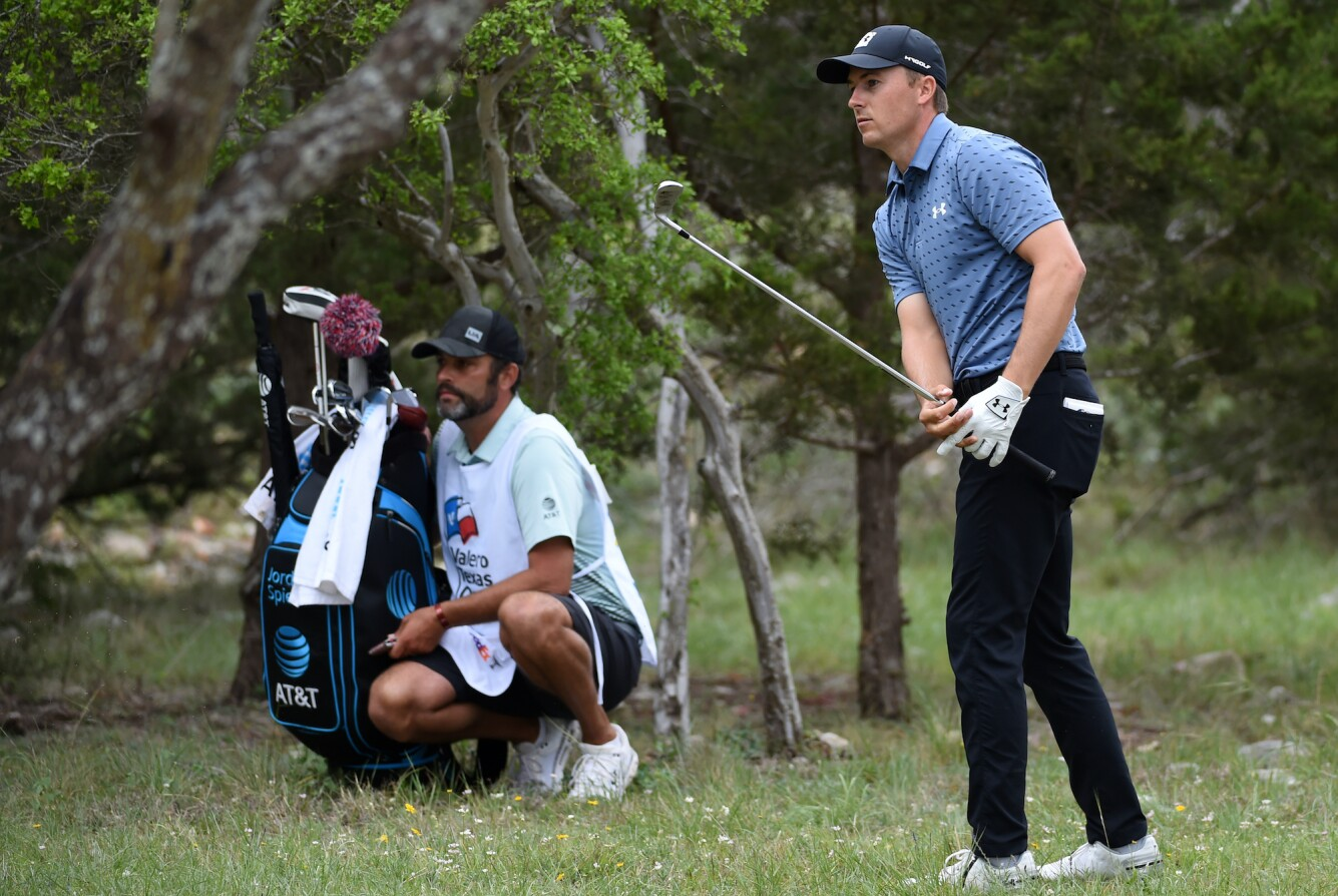 2021 Valero Texas Open: Final Round - Out of the Rough on the 4th