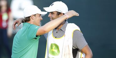 Jordan Spieth and Michael Greller at the John Deere Classic