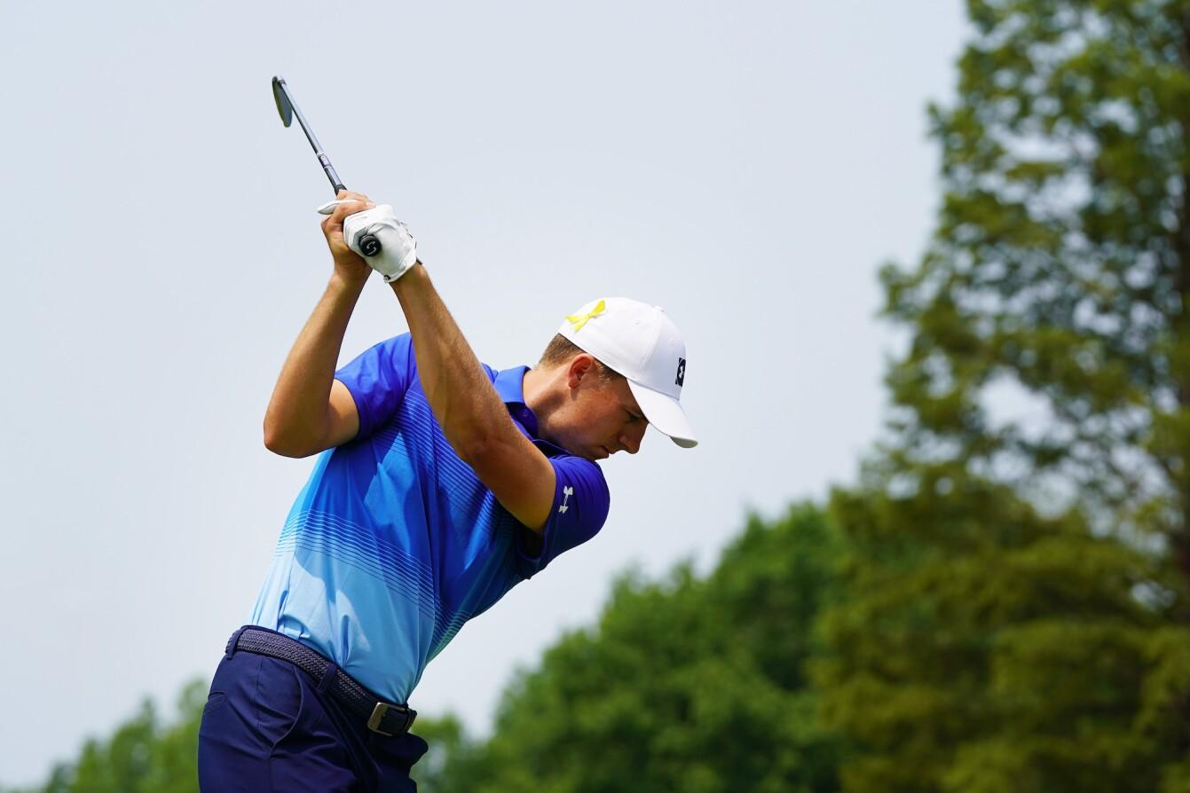 2018 PGA Championship: Round 3 - Shot on No. 6
