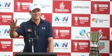 2016 Emirates Australian Open: Jordan Talks to the Press After His Second Australian Open Win