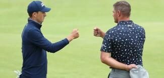 2021 Open Championship: Round 1 - A Fist Bump for Bryson DeChambeau
