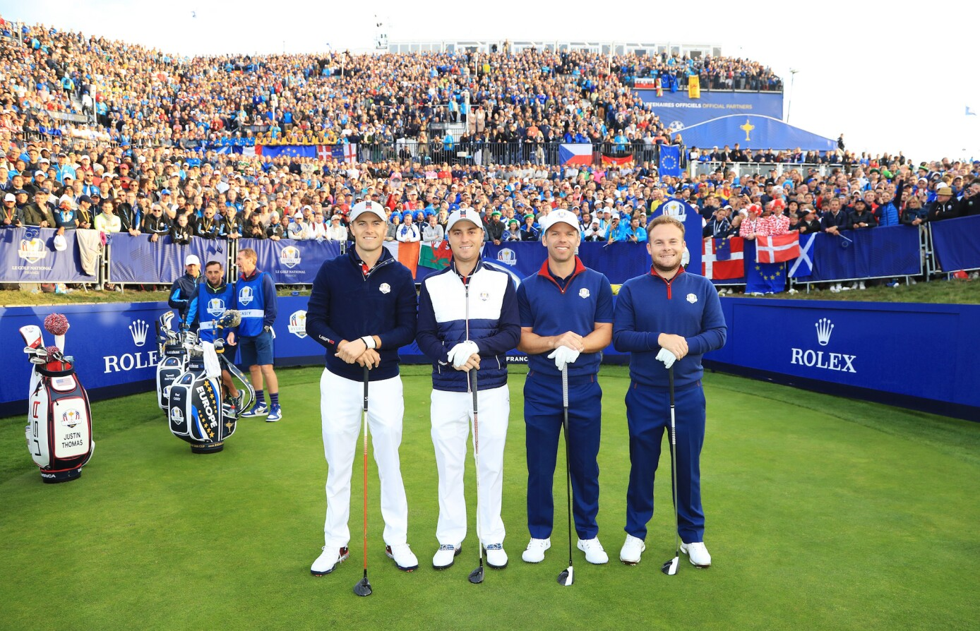 2018 Ryder Cup: Friday Morning Fourball - Team