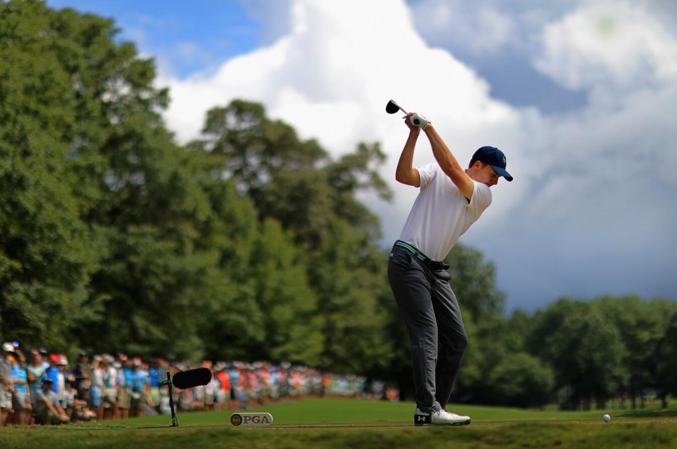 2017 PGA Championship: Round 3 - Tee Shot 2nd Hole