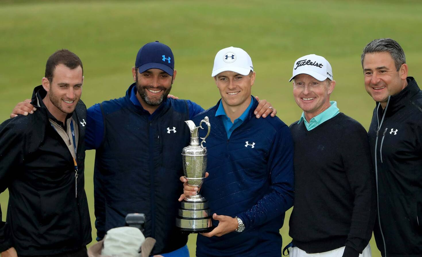 2017 Open Championship: Final Round - Team Spieth