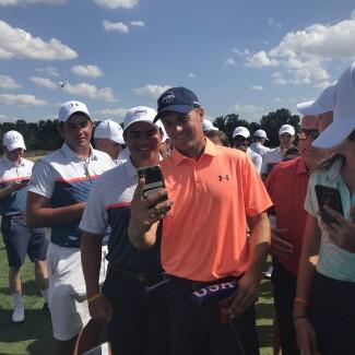 2018 UA/AJGA Event - Selfie
