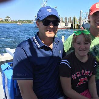 2015 Deutsche Bank Championship: Spieth Kids Out on the Water