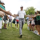 2019 Charles Schwab Challenge: Round 3 - High Fives on the Way to the 4th Tee