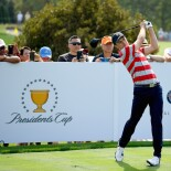 2017 Presidents Cup: Preview Day - Tee Shot